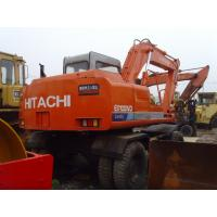 Quality EX100WD USED HITACHI WHEEL EXCAVATOR FOR SALE ORIGINAL JAPAN USED HITACHI for sale