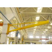 China Workshop Wall Mounted Jib Crane , Manual Small Portable Lifting Equipment on sale
