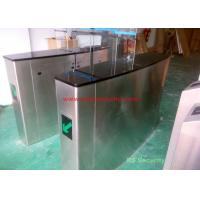 Quality Shopping Mall Luxury Automatic Systems Turnstiles Human Voice Warning , Right Passing for sale