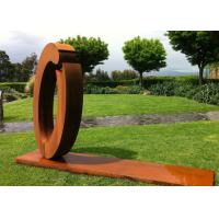 Buy cheap Commercial Art Sculpture Luxury Stainless Steel outdoor Sculpture from wholesalers