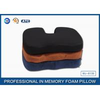 Wholesale Memory Foam Orthopedic Seat Cushion With 3D Mesh and Poly Velvet Fabric from china suppliers