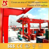 China Double hooks Rail Mounted Harbour Port container gantry crane cost on sale
