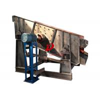 Wholesale Single Deck Vibrating Screen Machine For Stone Crusher Coal Ore 730 R/Min from china suppliers