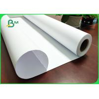 China White Paper 20LB Bond Rolls With 2'' Paper Core For HP Length Custom - Made for sale