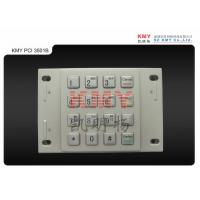 Wholesale Bombproof USB Automated Teller ATM Machine EPP Metal Numeric Keypad , 4 x 4 Keys from china suppliers