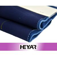 Textile Wholesale China 20*16+70D 250GSM Cotton Spandex Indigo Dyeing Stretch Woven Twill Fabric for Skirt/Pants/Trouser