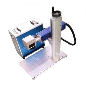 China Air Cooling 7000mm/S 1064nm Laser Marking Equipment on sale