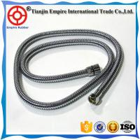 Wholesale Factory supply flexible Teflon PTFE hose assembly with fitting stainless Corrugated  metal hose to deliver hot water from china suppliers