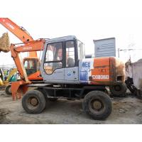 Quality Used HITACHI WHEEL EXCAVATOR EX120WD FOR SALE ORIGINAL JAPAN for sale