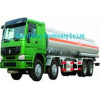 Wholesale HOWO 371 hp 8x4 Water Tanker Trailer 38000L in Green , EURO II Emission from china suppliers