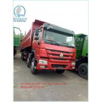 Wholesale Dump Tipper Truck Special Dump Truck25 ton 8 x 4 Unloading Heavy Duty Trucks , EURO II 371 Horsepower from china suppliers