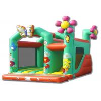 Wholesale Rental Entertainment Sun Flower Inflatable Slide Bouncer With Jumping from china suppliers