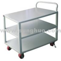 Hand trucks carts |Metal three layers white platform hand trucks carts for sale