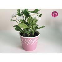 Wholesale Customized Wooden Design Single Wall Plant Paper Bucket Double PE Coated from china suppliers
