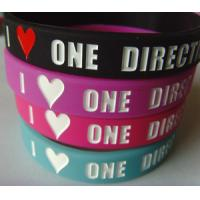 Amazing fashion custom logo available silicone wristband for sale