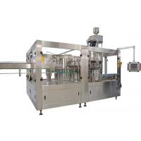Buy cheap 200ml - 2L Automatic Bottle Filling Machine , PET Bottle Carbonated Drinks from wholesalers
