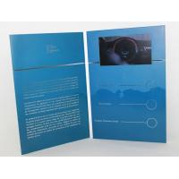 Wholesale 5 silver printing Video Brochure Card , fair display lcd video business cards from china suppliers