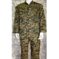Wholesale Digital Camo Woodland Military Uniform For 35% Cotton And 65% Polyester from china suppliers