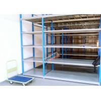 Wholesale Medium Weight Long Span Shelving / Boltless Steel Shelving Without Pallet from china suppliers