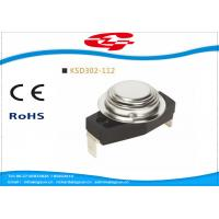 Wholesale KSD302-112 Automatic reset Snap Disc Thermostat , Bimetal Disc Thermostat from china suppliers