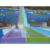 China China Guangxi  30,000 Fiberglass  Water Slide / Wave Pool  / Family Water Playground Water Park for sale