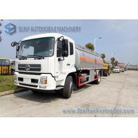 Wholesale Light Diesel Chemical Tanker Truck / Small Fuel Tanker Truck Max Speed 85 Km / H from china suppliers