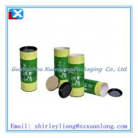Wholesale round tube tea box wholesale with high quality from china suppliers