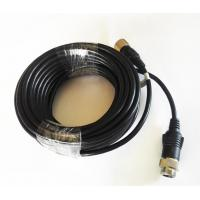 Wholesale 6 Poles M12 Screw Lock Driving Reverse Camera Cable PVC Insulation from china suppliers