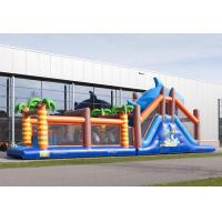 Wholesale Waterproof Adventure Run Inflatable Obstcale Course 17.5*3.8*5m from china suppliers