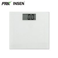 China Ultra Thin Large LCD Display 180KG Digital Glass Bathroom Scale on sale