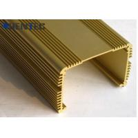 China Anodized Aluminum Extrusions For Electronics , With Finished Machining for sale