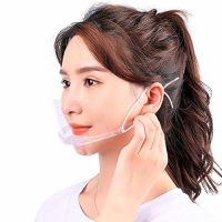 Buy cheap Slipping Resistant Transparent Plastic Face Mask For SPA from wholesalers