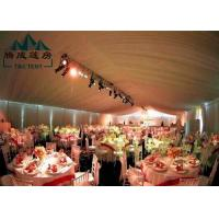 Wholesale Marquee Gazebo Wedding Event Tents With Sandwich Panel And Wall Curtain from china suppliers