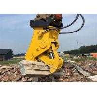 Buy cheap High Efficiency Hydraulic Pulverizer Attachment For Excavator Easy Operation from wholesalers