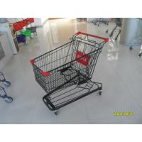 Buy cheap 941 X 562 X 1001mm Supermarket Shopping Trolley With 4 Swivel Flat Casters from wholesalers