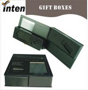 China black cardboard lid gift packaging box on sale
