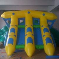 Wholesale PVC Tarpaulin Inflatable Water Flying Fish Boat With Logo printing from china suppliers