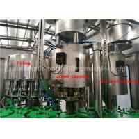 Wholesale Pineapple Juice Glass Bottle Filling And Capping Machine 330ml ISO Certificated from china suppliers