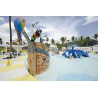 Wholesale Fiberglass Pirate Ship Amusement Park Equipment For Spray Play from china suppliers