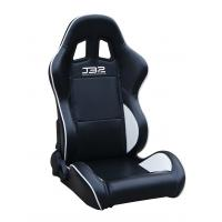 Wholesale Black / White Custom Racing Seats Fully Reclinable 89 * 69 * 55 cm from china suppliers