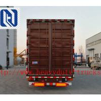 China SHMC Van Type Semi Trailer Trucks 40 Ton Payload Semi Van Box Trailer on sale