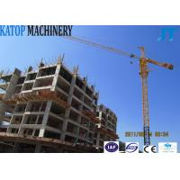 Wholesale CE approved 8t QTZ100(6010) big Tower Crane from china suppliers
