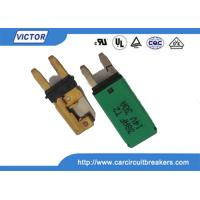 Wholesale Blade Fuse Manual / Auto Reset Circuit Breaker 15A 28Vdc With Ignition Protected from china suppliers