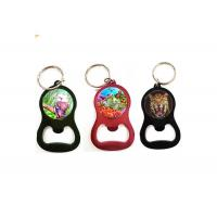 Wholesale Custom Printing Services 3D Lenticular Keyring 3D Bottle Opener For Promotion from china suppliers
