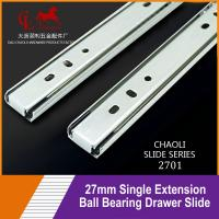27mm Furniture Ball Bearing Slides for Cabinet Drawer Parts 2701 for sale
