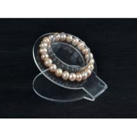 Wholesale 3mm Acrylic Jewelry Display Rack Bracelet Holder Transparent 150×150×500 mm from china suppliers