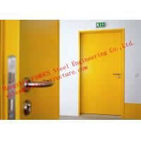 Wholesale European Standards Steel Fire Resistant Single Door For Household Or Office Use from china suppliers