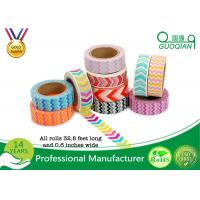 Wholesale Arts Make / Crafts Decorative Washi Masking Tape Custom Printing For Gift Box from china suppliers