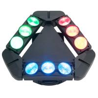 Wholesale Disco Lighting 9 Heads 10W 4 IN 1 LED Spider Moving Head Beam Light Energy Saving  X-93 from china suppliers
