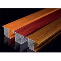 Wholesale Formability Electrophoresis Aluminium Door Profiles Wood Grain Anodizing from china suppliers